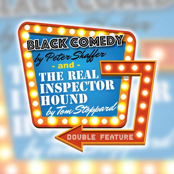 Black Comedy & The Real Inspector Hound